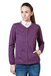 Allen Solly Purple Sweatshirt