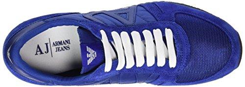 Armani C652432, Scarpe da Ginnastica Uomo Blu (Blau (BLU - BLUE 05))