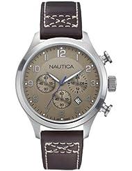 Nautica Herren-Armbanduhr Braun A14698G