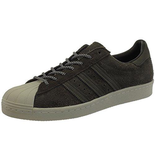 Adidas Sneaker Men SUPERSTAR 80S S75848 Braun, Schuhgröße:43 1/3