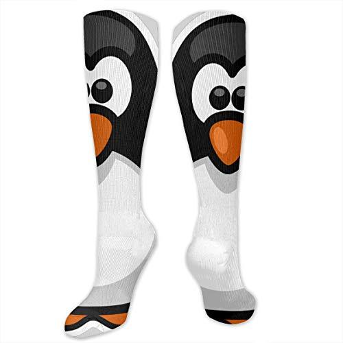 YudoHong Penguin High Tube Socks Unisex Sportsockenstrumpfhose Kniestrumpf -