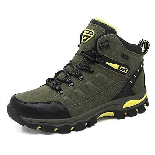 WOWEI Scarpe da Escursionismo Arrampicata Sportive All'aperto Impermeabili Traspiranti Trekking Sneakers da Donna Uomo