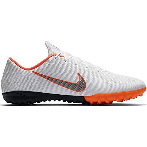 Nike Unisex-Erwachsene Mercurial Vapor 12 Academy GS TF JR AH Fußballschuhe, Mehrfarbig (Indigo 001), 36 EU - Für Schuhe Turf Nike Männer