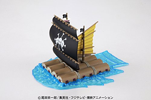 BANDAI- Marshall D. TEACH'S Model Kit Figura 15 CM One Piece Grand Ship Collection 83184P, Multicolor (BDHOP006374) 3