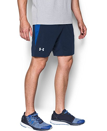 Under Armour Running-Pantaloni corti da uomo UA Streaker, Uomo, Running - Kurze hose Ua Streaker Shorts, Navy, S