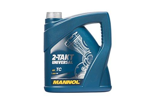 MANNOL Motorenöl 2-Takt Universal API TC, 4 Liter