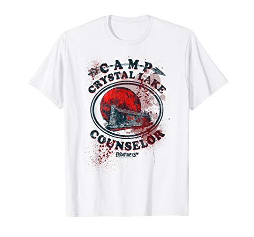 Jason T-shirt Tee (Friday the 13th Camp Counselor Victim T Shirt)