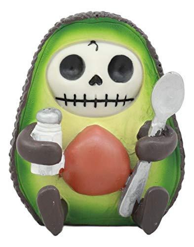 Ebros Gourmet Furrybones Avocado-Figur, klein, 7 cm (Menschen Mops-kostüme Für)