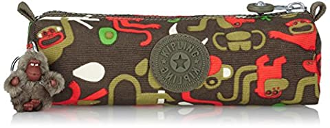 Kipling - FREEDOM - Medium Pen Case - Monkey Frnds Kh - (Print)
