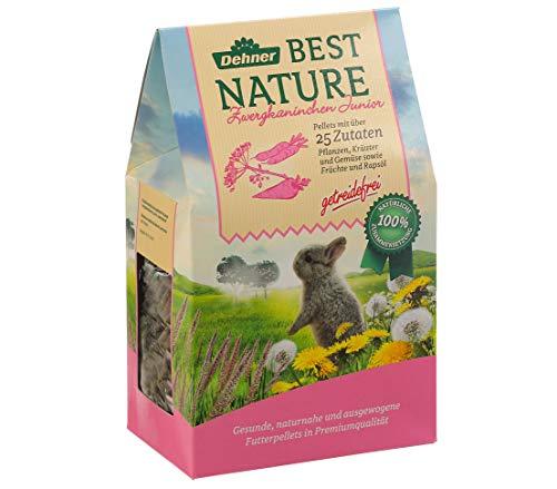 Dehner Best Nature Nagerfutter, Junior Zwergkaninchenfutter, 2 kg