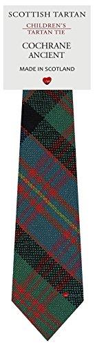 I Luv Ltd Garçon Tout Cravate en Laine Tissé et Fabriqué en Ecosse à Cochrane Ancient Tartan