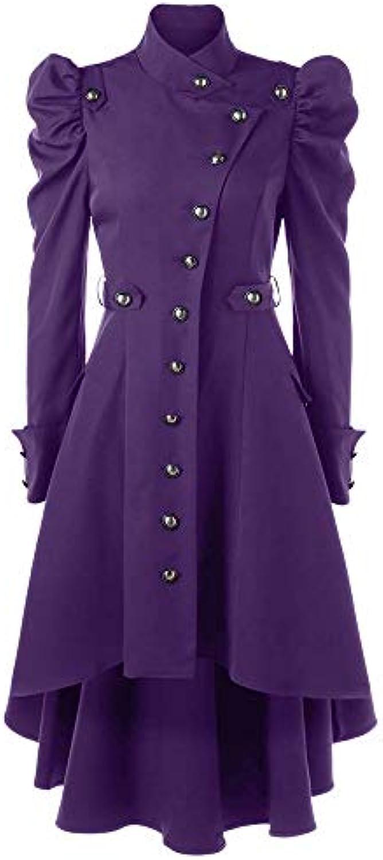 Giacche E Yesmile Cappotti da Donna Yesmile E donna Vintage Steampunk Cappotto  Lunga Giacca Gotica Ladies Retro Jacket... ccc7cb 83dcc25e484