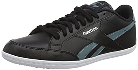Reebok Royal Transport S, Baskets Basses Homme, Noir (Black/Teal Dust/White), 45 EU
