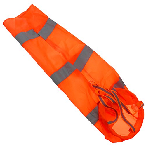 ENET 76,2 cm Nylon Aviation Windsack Rip-Stop Wind Messung Socke Tasche Reflektierende ()
