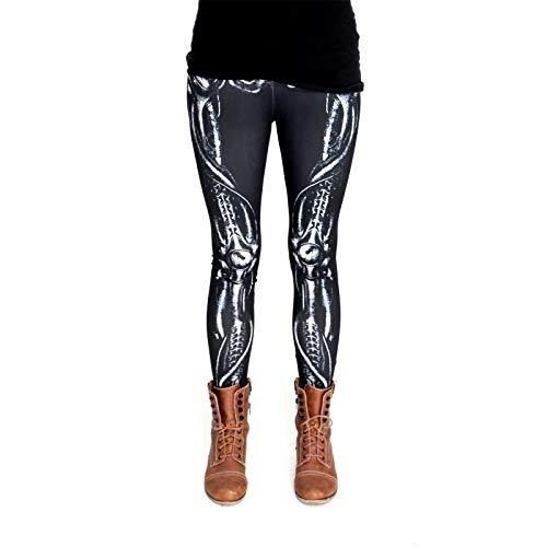 cosey - Bedruckte Bunte Halloween Leggins (Einheitsgröße) - Leggings Design ()