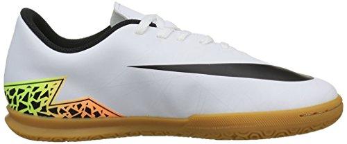 Nike Jr Hypervenom Phade Ii Ic, Scarpe da Calcio Unisex – Bambini Bianco (Blanc (White/Black Total Orange Volt))