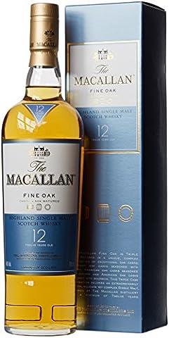 Macallan 12 Year Old Fine Oak Highland Single Malt Scotch Whisky, 70 cl