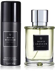David Beckham Instinct Eau de toilette (50ml) + Déodorant spray (150ml) pour homme