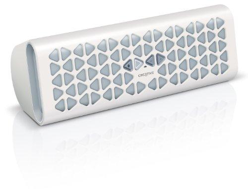 Creative Labs Creative MUVO 20 - Altavoces portátiles (Inalámbrico, 3,5 mm, Bluetooth, A2DP, AVRCP, HFP, Digital), color blanco