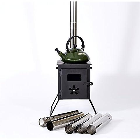 Outbacker 'caja de cerillas' portátil estufa de leña