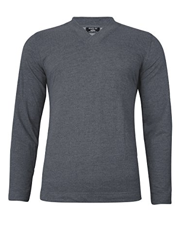 Replay Langarm Sweatshirt mit V-Ausschnitt, blau Blau