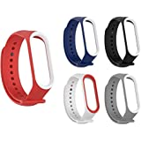 Rapidotzz Pack of 5 Straps/Belts/Bands Compatible for Xiaomi MI Band 3 | Mi3