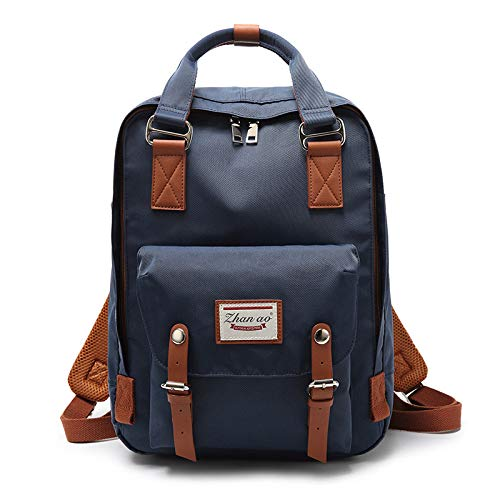 GIRLAA New Fashion Casual Backpack Small School Bag Men and Women Donuts Waterproof Backpack
