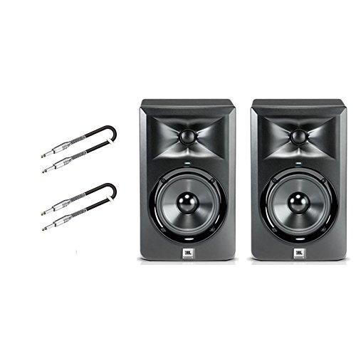 JBL Set Monitor-Studio LSR 308/Kabel Audio Jack/Jack 3MT gratis Bundle
