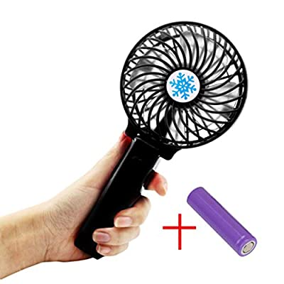 Hotsellhome New Mini Portable Hand-held Desk Fan Cooler Cooling USB Rechargeable Air Conditioner for Office Home Outdoor Travel