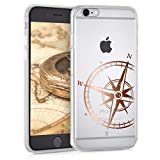 kwmobile Apple iPhone 6 / 6S Hülle - Handyhülle für Apple iPhone 6 / 6S - Handy Case in Rosegold Transparent