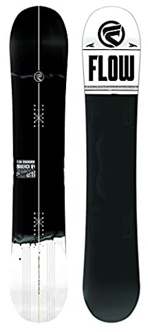 Flow Maverick ABT All Mountain Back Country Snowboard Black White