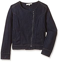 Chemistry Girl Casual Jacket (GA15-102WTOUTJKT_Blue_9 - 10 years)