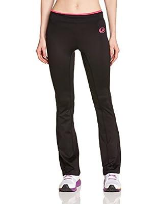 Ultrasport Damen antibakterielle Fitness Hose lang mit Quick Dry Function