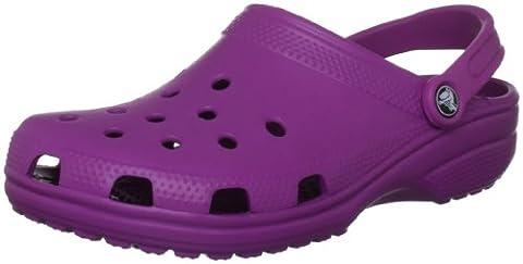 Crocs Classic, Unisex-Erwachsene Clogs, violett, 41/42 EU ( US: M8/W10)