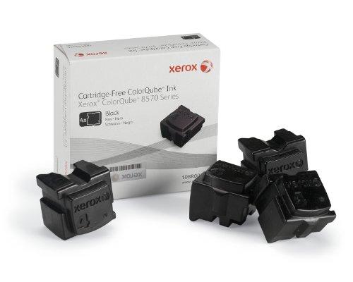 Preisvergleich Produktbild Original Tinte passend für Xerox ColorQube 8570 Xerox 8570 108R00935 , 108R935 - 4x Premium - Schwarz - 8.600 Seiten