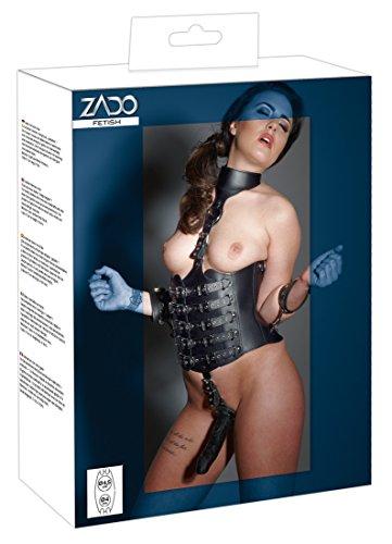 ZADO Damen Unterwäsche-Set 20007681111, Schwarz (Nero 001), One Size (Herstellergröße: S/M)