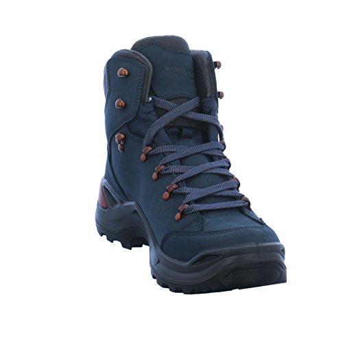 Lowa Herren Renegade GTX Mid 20 Trekking-& Wanderstiefel Blau (Navy/kupfer 6943)