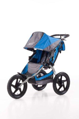 BOB Sport Utility Stroller - Cochecito todoterreno de 3 ruedas, color azul cielo y gris