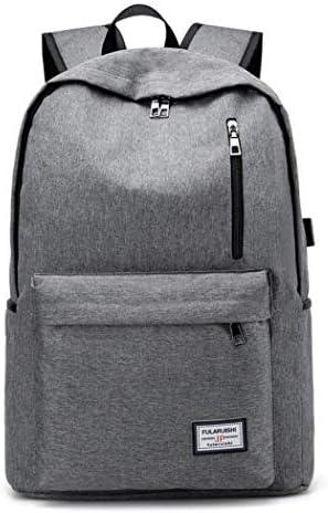6eaf715e7e Cvbnm Zaino per Laptop da Viaggio, Borsa Professionale per Zaini Zaini  Zaini da Lavoro con Porta USB per Ricarica, Borsa per Laptop Leggera  Sottile, ...