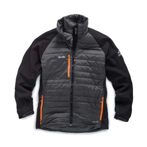 Scruffs T54046 Expedition Thermo Softshell-L, Schwarz Expedition Softshell