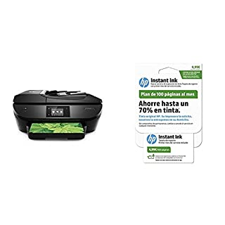 HP OfficeJet 5740 - Impresora multifunción + tarjeta 100 páginas Instant Ink (B076591RGD) | Amazon price tracker / tracking, Amazon price history charts, Amazon price watches, Amazon price drop alerts