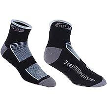 BBB Technofeet BSO-01 Calcetines deportivos, Hombre, Negro/Blanco, 43-