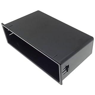 Standard Car Radio Shelf Compartment Slot Fascia Base Car Truck/Boat ISO