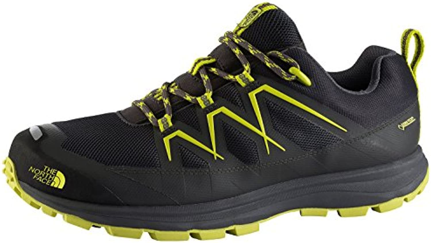 The North Face – Hombre Zapatos tamaro GTX, hombre, DRKSHADWGRY/SULPHRSPRGGRN