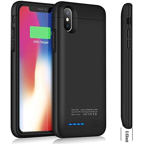 Cofuture Coque Batterie iPhone X 4000 mAh Portable Étendue Chargeur Case...
