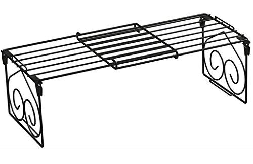 GRJH® Regal, Multifunktions Incorporated Schuhständer Scheibenregal Küche Klapprahmen schrumpfen Zwei Farben schwarz Weiß Wasserdicht und langlebig