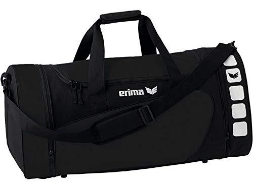 Erima Sporttasche, schwarz/Schwarz, M, 46 Liter