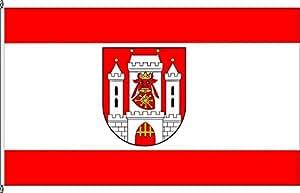 Flagge Fahne Hochformatflagge Uedem - 120 x 300cm