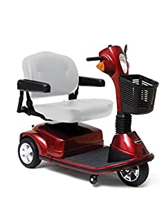 Pride Maxima 3 Wheel Heavy Duty Mobility Scooter - Red