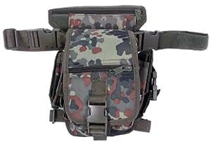 MFH Hip Bag Security Bein und Gürtelbefestigung, flecktarn